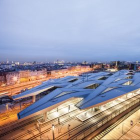 Unger Steel Group - Roof Vienna Hauptbahnhof<span>Architectural photos</span>